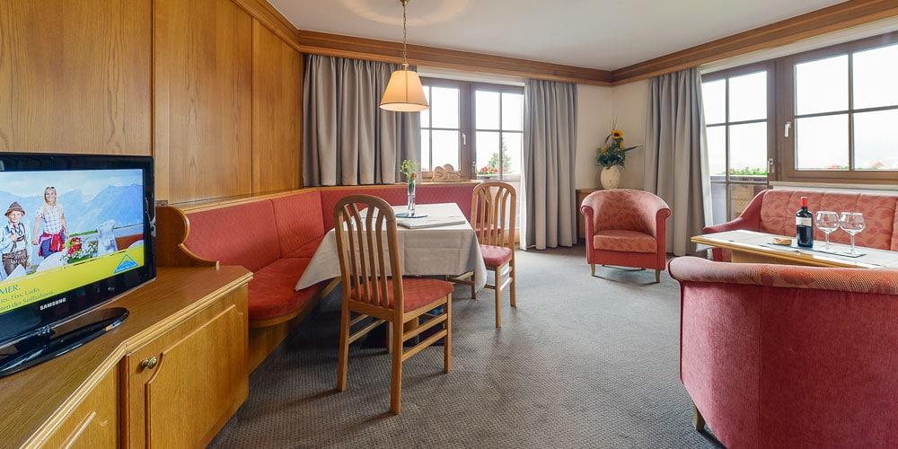 Appartement Streich 2: Drei-Zimmer-Ferienwohnung für 2 bis 5 Personen 1