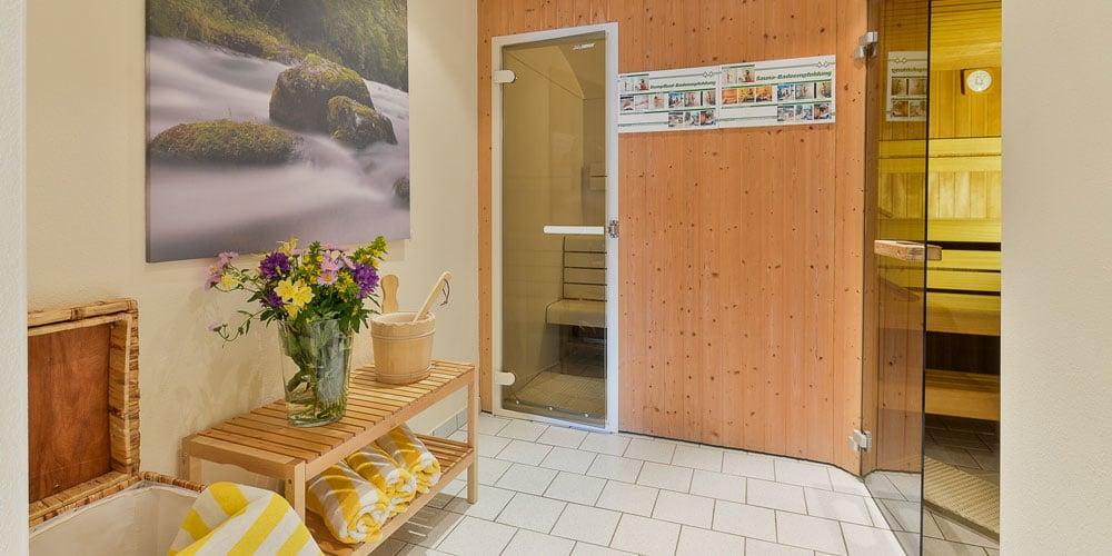 Appartementhaus Max & Moritz: Wellness 1